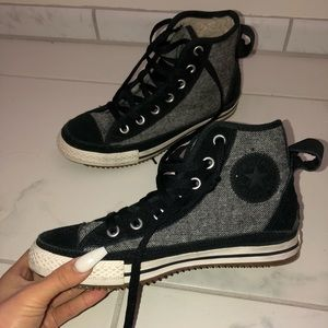 Converse with Fur Inside
